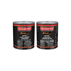 Gray Epoxy Primer/Sealer 2.1 VOC (1 Quart Kit) Anti-Corrosive DTM High-Performance Primer for Automotive and Industrial use Kit = 1 Pint Epoxy Primer +1 Pint. Epoxy Hdr. (1-1 Mix)