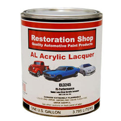 Restoration Shop 1 Gallon Cl3245 Hi-Performance Acrylic Lacquer Clear Coat