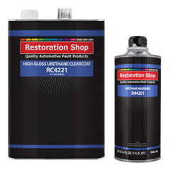 Low VOC High Gloss Urethane Clearcoat Gallon Kit for Basecoat Auto Paint System