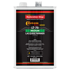 Restoration Shop Acrylic Lacquer Medium Thinner Low-Temp Topcoat Thinner Gallon