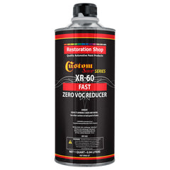 Restoration Shop / Custom Shop  -  XR60 Fast Zero V.O.C. Urethane Reducer (Quart/32 Ounce) for Automotive Paint and Industrial Paint Use for Low V.O.C. Compliance
