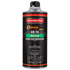 Restoration Shop / Custom Shop  -  XR70 Medium Zero V.O.C. Urethane Reducer (Quart/32 Ounce) for Automotive Paint and Industrial Paint Use for Low V.O.C. Compliance