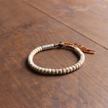 "Load image into Gallery viewer, ""Moon and Stars"" Bodhi Seed Mala Bracelet"