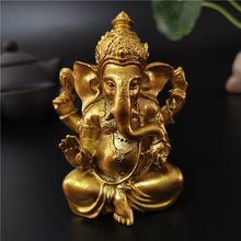Load image into Gallery viewer, Golden Ganesha Statue