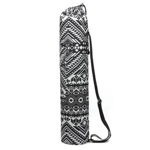 Printed Drawstring Yoga Mat Bags with Adjustable Strap - Bonsai Creek