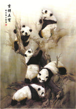 Load image into Gallery viewer, Five Pandas