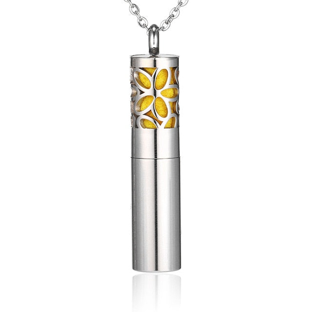 Aromatherapy Essential Oil Diffuser Pendant Necklace