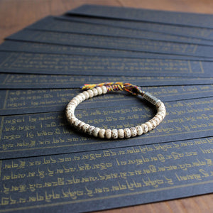 """Moon and Stars"" Bodhi Seed Mala Bracelet"