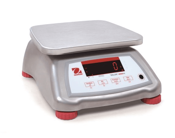 Ohaus Valor 4000 Stainless Steel Portion Scales