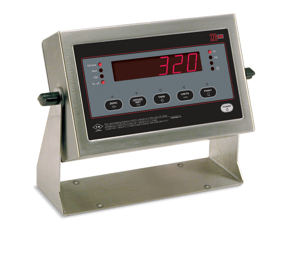 Rice Lake 320IS Intrinsically Safe Digital Weighing Indicator