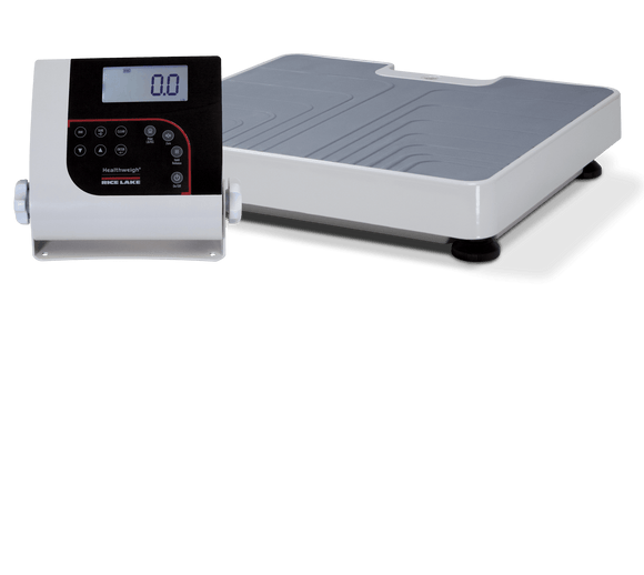 Rice Lake Floor Level Digital Physician Scale