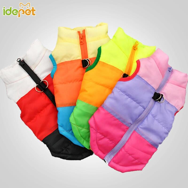 Winter Dog Vests For Small Dogs