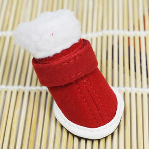 Thick Winter Shoes For Dogs