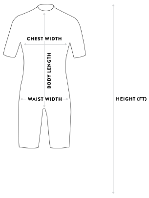 Adelio Spring Suit size guide