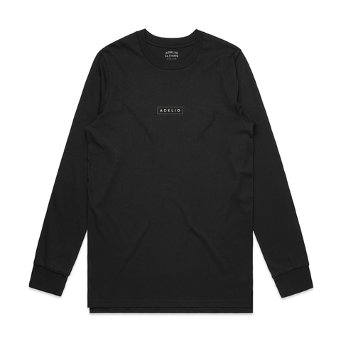 Long Sleeve Adelio Box Car Logo Tee