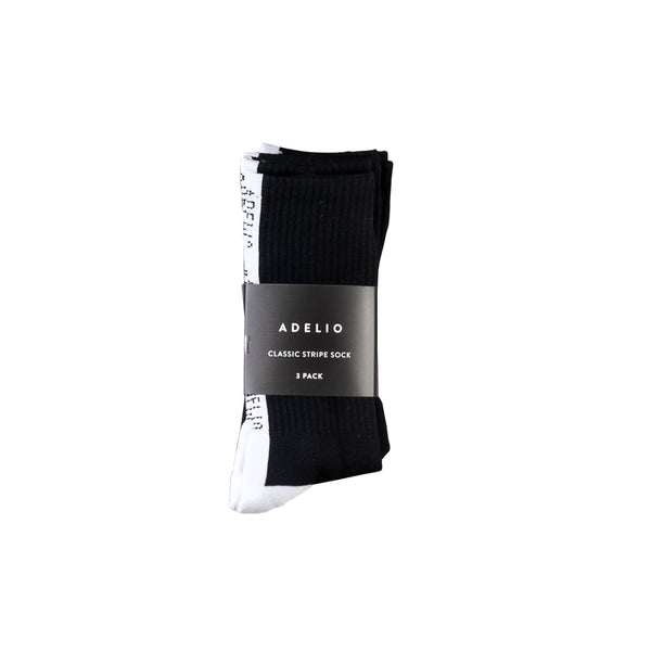 3 Pack of Adelio Stripe Socks
