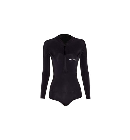 Harper 2/2 Ladies Black L/S Bikini Spring Suit