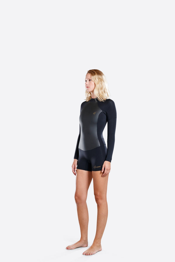 Adelio 2 mm Ladies Harper Boy Leg Back Zip Wetsuit