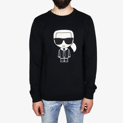 Puro Lagerfeld At Shop Sweatshirt Karl Ireland Dublin Black Ikonik vfCq1ngw6