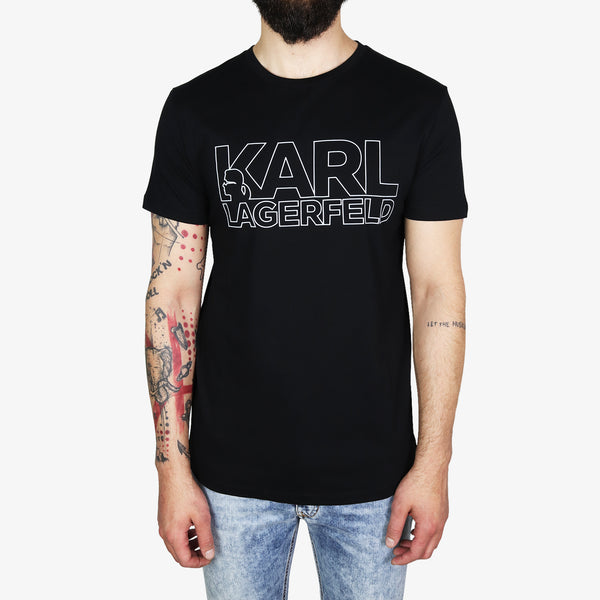 KARL LAGERFELD - Karl Lagerfeld Print T-Shirt Black - Shop at PURO Dublin, Ireland.