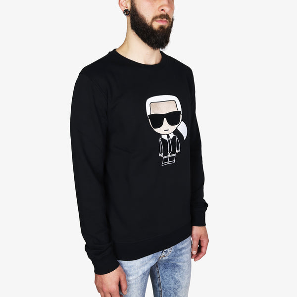 KARL LAGERFELD - Karl Ikonik Sweatshirt Black - Shop at PURO Dublin, Ireland.