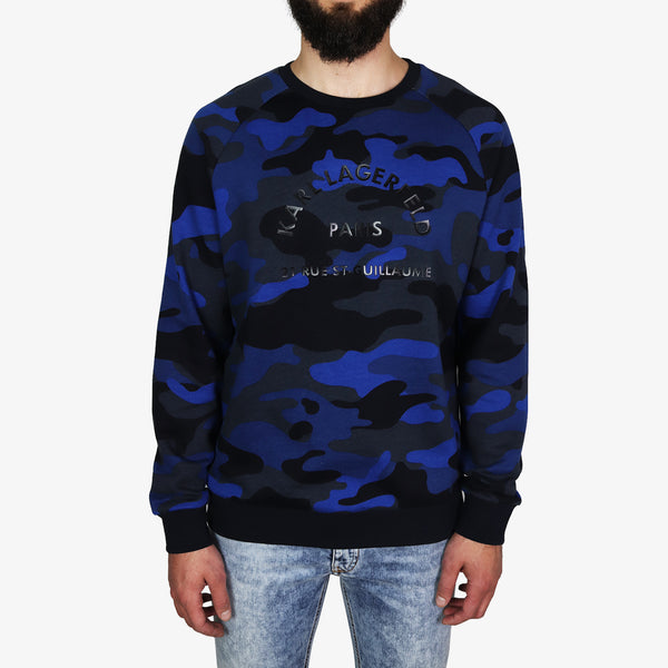 KARL LAGERFELD - Camouflage Karl Paris Blue - Shop at PURO Dublin, Ireland.