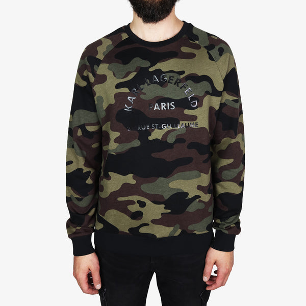 KARL LAGERFELD - Camouflage Karl Paris Military - Shop at PURO Dublin, Ireland.