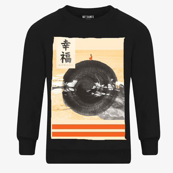 KO SAMUI - Happinness Sweatshirt Black - Shop at PURO Dublin, Ireland.
