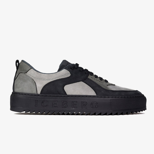 ICEBERG - Shark Sole Nubuck Sneakers - Shop at PURO Dublin, Ireland.