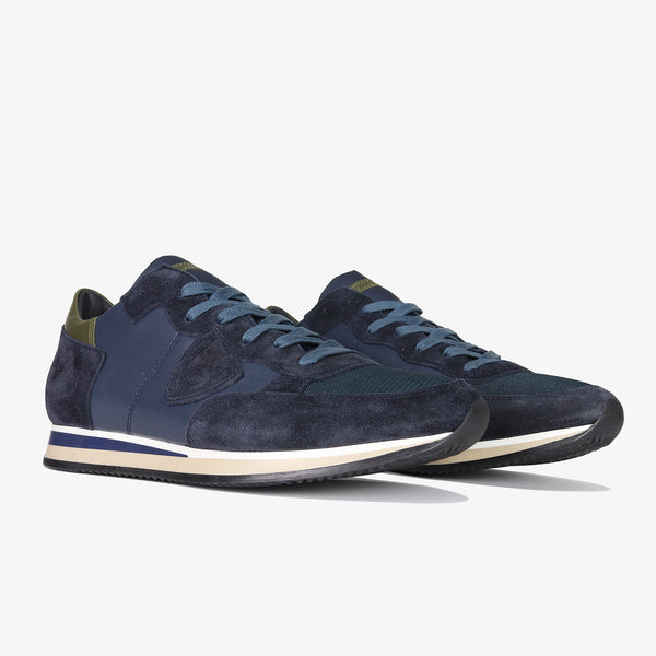 PHILIPPE MODEL - Tropez Mondial Leather G/Navy - Shop at PURO Dublin, Ireland.