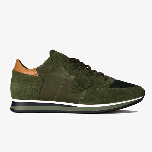 PHILIPPE MODEL - Tropez Mondial Leather Green - Shop at PURO Dublin, Ireland.