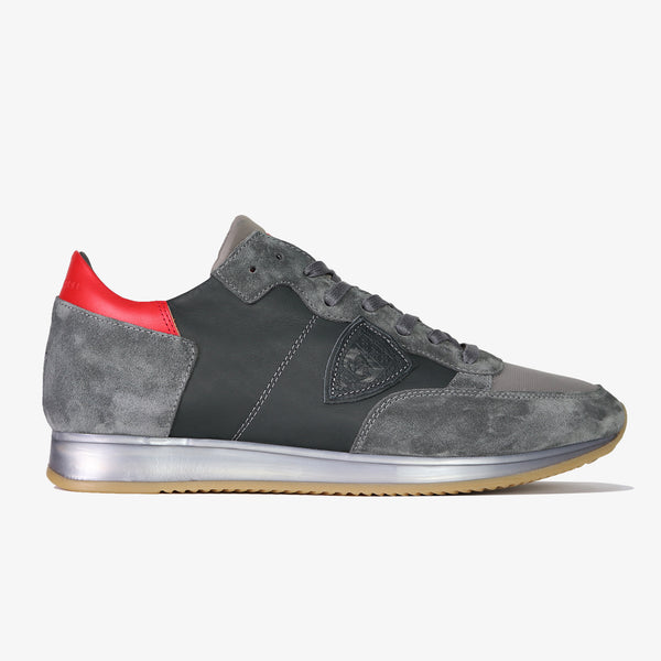 PHILIPPE MODEL - Tropez Mondial Leather Grey sole - Shop at PURO Dublin, Ireland.