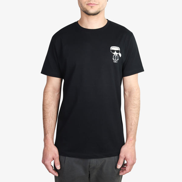 KARL LAGERFELD - Embroidered Karl Ikonik T-Shirt Black - Shop at PURO Dublin, Ireland.