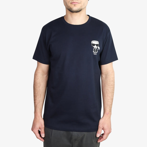 KARL LAGERFELD - Embroidered Karl Ikonik T-Shirt Navy - Shop at PURO Dublin, Ireland.