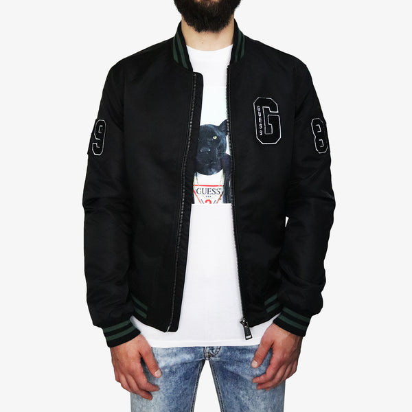 GUESS - Varsity Guess Jacket Black - Shop at PURO Dublin, Ireland.