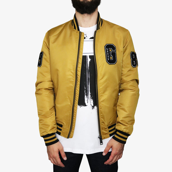 GUESS - Varsity Guess Jacket Gold - Shop at PURO Dublin, Ireland.