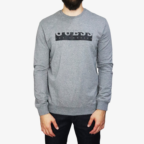 GUESS - Embossed Fleece Grey - Shop at PURO Dublin, Ireland.