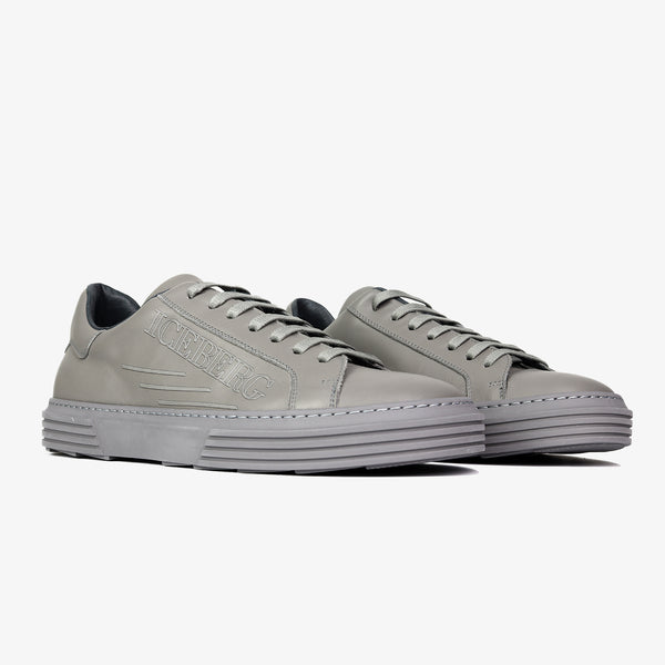 ICEBERG - Calf Leather Low Top Sneakers - Shop at PURO Dublin, Ireland.