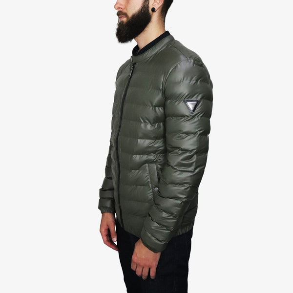 GUESS - Seamless Puffa Jacket Olive - Shop at PURO Dublin, Ireland.