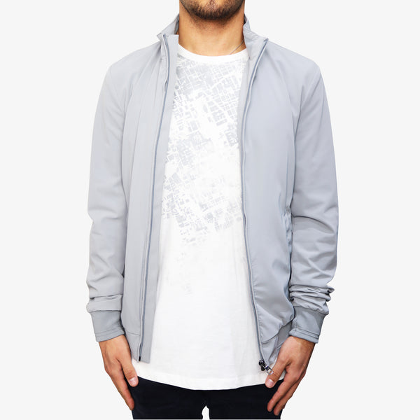 LAB PAL ZILERI - Lab Blouson Waterproof Fabric Light Grey - Shop at PURO Dublin, Ireland.