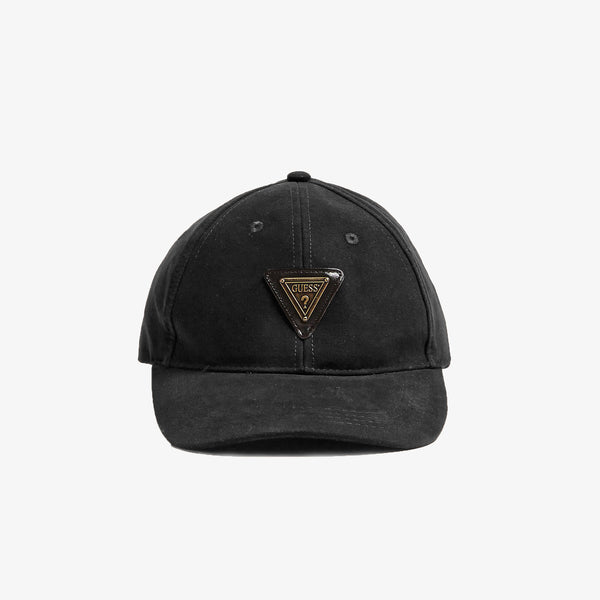 GUESS - Triangle logo Cap Black - Shop at PURO Dublin, Ireland.