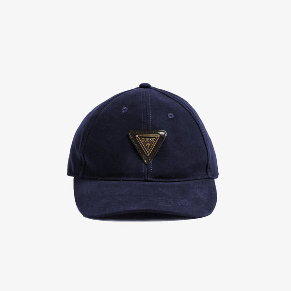 GUESS - Triangle logo Cap Navy - Shop at PURO Dublin, Ireland.