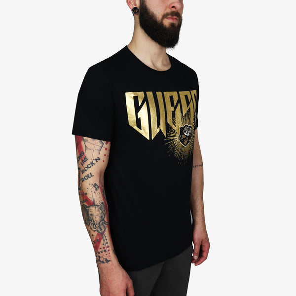 GUESS - Gold Logo with Patch Black - Shop at PURO Dublin, Ireland.