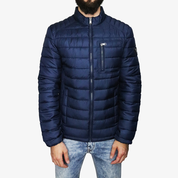 GUESS - Puffa Headphone Jacket Navy - Shop at PURO Dublin, Ireland.