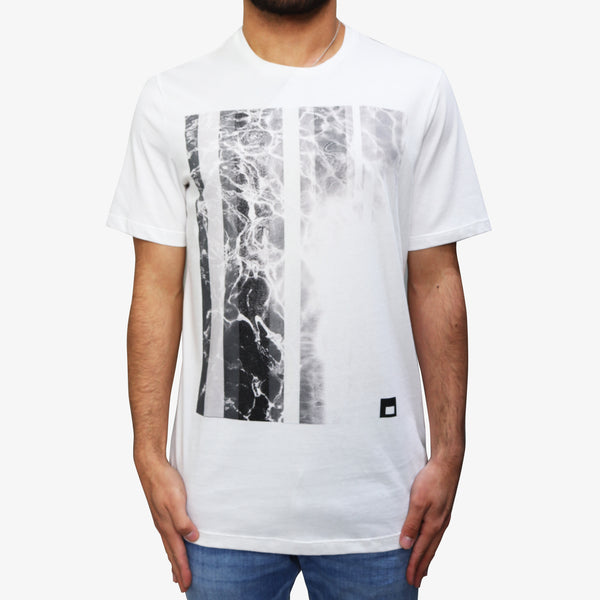LAB PAL ZILERI - Smoke T-Shirt Off-White - Shop at PURO Dublin, Ireland.