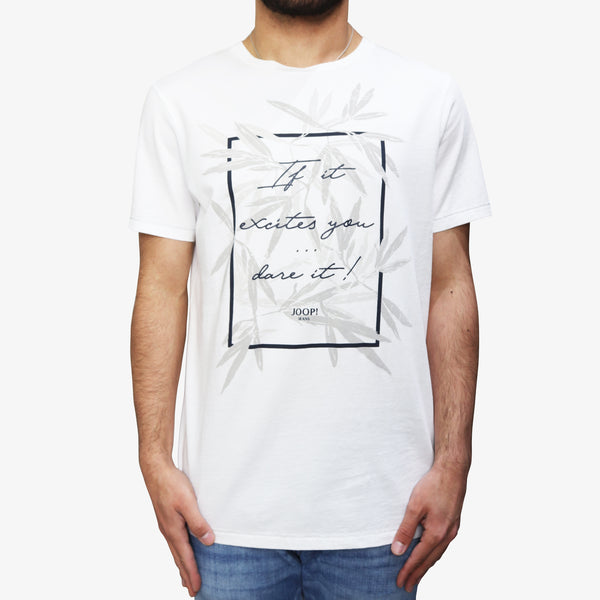 JOOP! - Jeans T-Shirt Print White - Shop at PURO Dublin, Ireland.