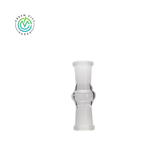 Cream City Vapes - 14mm Female to 14mm Female Glass Adapter