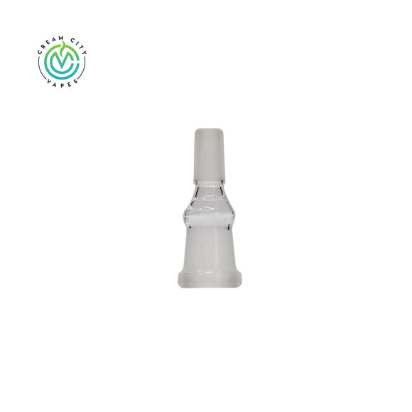 Cream City Vapes - 18mm Female to 14mm Male Glass Adapter