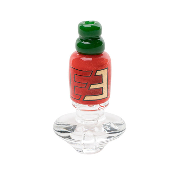 Empire Glassworks Carb Cap for the PuffCo Peak or Source Versa - Hot Sauce