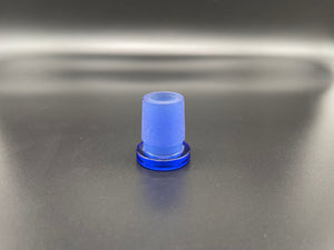 Kovacs Glass 14mm to 18mm Glass Adapter - Light Cobalt